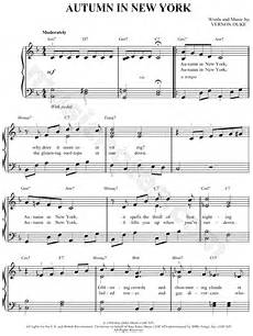 vernon duke quot autumn in new york quot sheet music in f major transposable download print sku