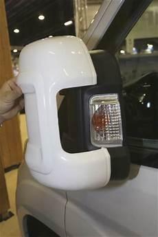 Coque De Protection Pour Retroviseurs Milenco Blanc Bras