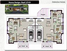 duplex house plans with garage 173 du 5 bed garage 180 2 m2 duplex design