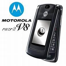 telefon handy motorola razr2 v8 black 2gb bluetooth