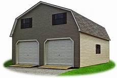 vinyl garage 2 car modular garages pine creek structures