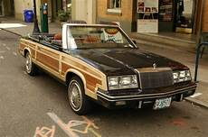Parked Cars 1983 Chrysler Le Baron T C Convertible