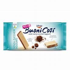 crema ai wafer buoni cos 236 wafer con crema al cacao senza zuccheri aggiunti 4 snack 180g galbusera d ambros