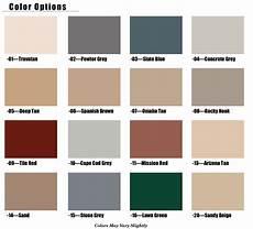 color chart epoxy floor garage