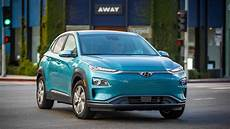 Hyundai Electric Car by 2019 Hyundai Kona Electric New Car Review The