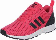 adidas zx flux shoes pink black