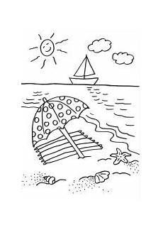 Einfache Ausmalbilder Sommer Pin Auf изобразительная грамотность