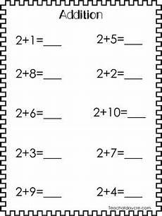 11 addition worksheets numbers 0 10 preschool kindergarten tpt