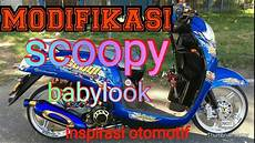Modifikasi Scoopy 2019 by Modifikasi Babylook Honda Scoopy Simple