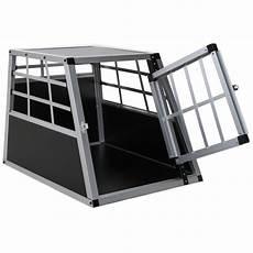 hundetransportbox metall s auto gitterbox kleine hunde alu
