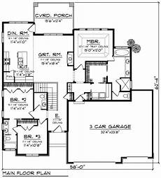 1800 square foot ranch house plans ranch style house plan 3 beds 2 5 baths 1800 sq ft plan