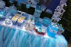Sweet Table Anniversaire Reine Des Neiges Le Bar