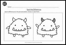 kindergarten same and different worksheets and activities