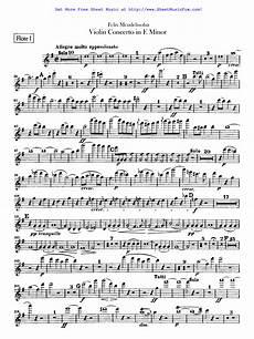 free sheet music for violin concerto op 64 mendelssohn felix by felix mendelssohn