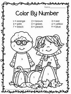 color by number fall coloring pages 18108 19 best printables images on worksheets free printable