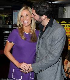 Tamzin Outhwaite Shows A Hint Of A Bump At Bill