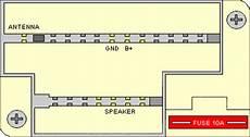 Clarion Car Radio Stereo Audio Wiring Diagram Autoradio