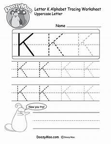 letter k printable worksheets 24404 uppercase letter k tracing worksheet doozy moo
