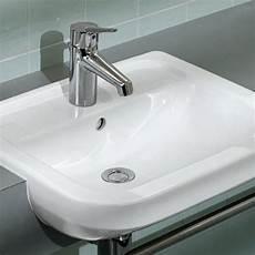 Omnia Architectura Waschtisch - villeroy boch omnia architectura semi recessed washbasin