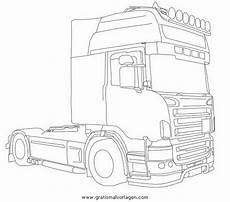 Malvorlagen Lkw Scania Scania Gratis Malvorlage In Lastwagen Transportmittel