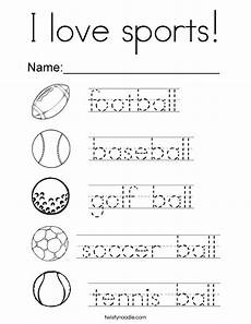 sports tracing worksheets 15881 i sports coloring page twisty noodle
