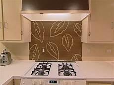 handpaint a kitchen backsplash hgtv