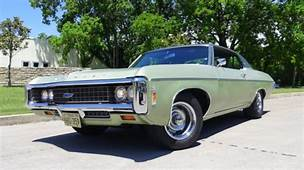 1969 Chevy Impala Custom Formal Top Coupe 396 S Matching