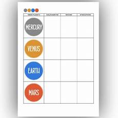 inner planets worksheets and presentation solar system inner planets worksheets and presentation solar system by space zorro