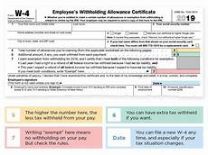 how to fill out tax withholding forms 2019 w 4 form how to fill it out what to claim calculator nerdwallet