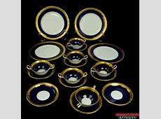 Blue Gold China For Sale   China & Dinnerware Sets