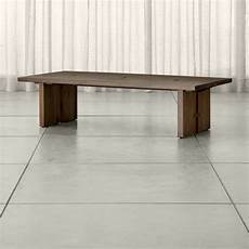 copper coffee table crate and barrel monarch solid walnut coffee table crate and barrel