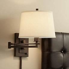 easley matte bronze plug in swing arm wall light r4625 ls plus