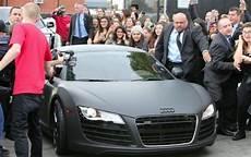 Justin Bieber Audi R8