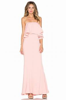 lily s dresses jarlo lily maxi dress in pink lyst