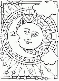 moon and coloring pages printable coloring home