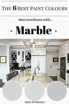 the 6 best paint colors to coordinate with marble white marble kitchen best gray paint color