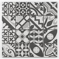 Mosa 239 Que Style Imitation De Ciment Grise Taille 8x8 Cm Sur