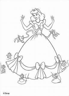 Cinderella Malvorlagen Ausdrucken Cinderella For Children Cinderella Coloring Pages
