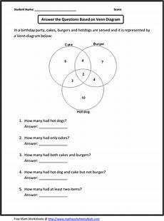 venn diagrams probability worksheets with answers 5956 nbs grade 5 6