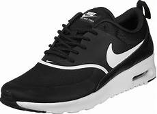 nike air max thea w shoes black white