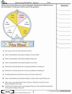 probability math worksheets 7th grade 5848 probability worksheets with links to other common based math practice sheets probability