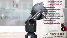 bosch mic ip starlight 7000 hd test by 2020 vision