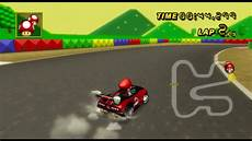 Mario Kart Wii Gameplay Time Trial Snes Mario Circuit 3