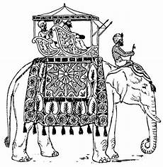 indian elephant design coloring pages indian elephant