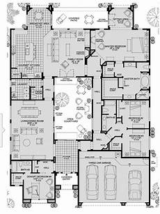 house plans with courtyard in middle modern courtyard house plans classic luxury nowadays
