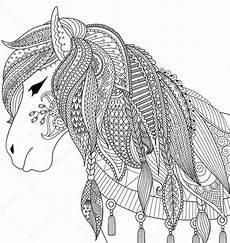 Ausmalbilder Erwachsene Kostenlos Pferde Pferde 3 Ausmalbilder F 252 R Erwachsene