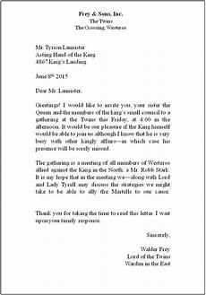 lesson 7 business letters
