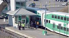 update go train service resumes following investigation of fatality in whitby
