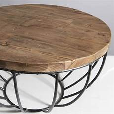 Table Basse Ronde 60x60 Tinesixe