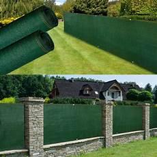 brise vue renforc 233 1 x 10 m vert 220 gr m 178 luxe pro brise